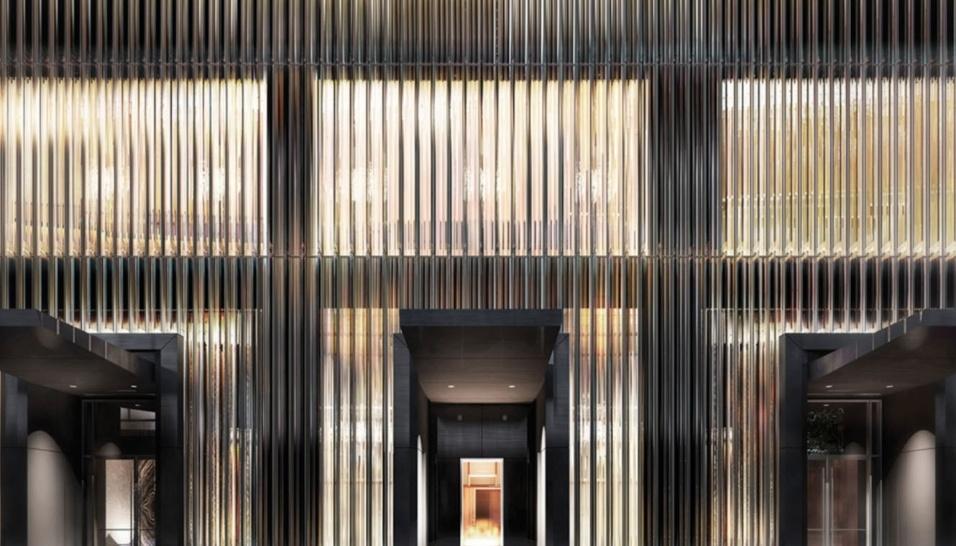 19.mai.2017 - O Baccarat Residences fica localizado na esquina da Rua 52 com a Quinta Avenida, em frente ao Museu de Arte Moderna, no coração da cidade de Nova York