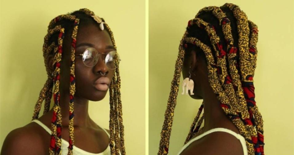 27. Laeti, além de esculpir os próprios fios, tem publicado penteados feitos em outras pessoas e, inclusive, ministrado cursos ensinando suas técnicas. Afinal, ideias boas devem ser compartilhadas