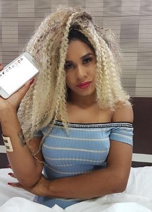 """A modelo Poliana Veiga vive bloqueando """"pessoas grosseiras"""" nas redes sociais"""