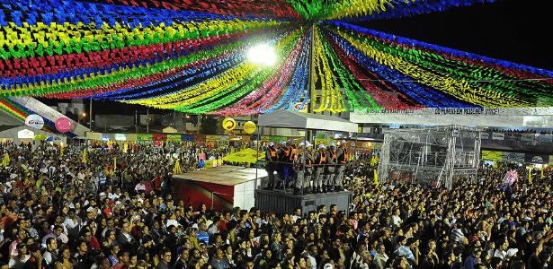 Festa de São João em Campina Grande (PB) - Reprodução/Portal Observa PB