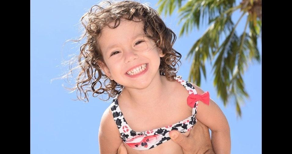 """Papai Washington e Mamãe Ariane, de São Paulo (SP), confessam: """"Amamos nossa Lorena!!"""""""