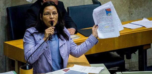 Vereadora Juliana Cardoso (PT) afirmou que foi agredida fisicamente e verbalmente