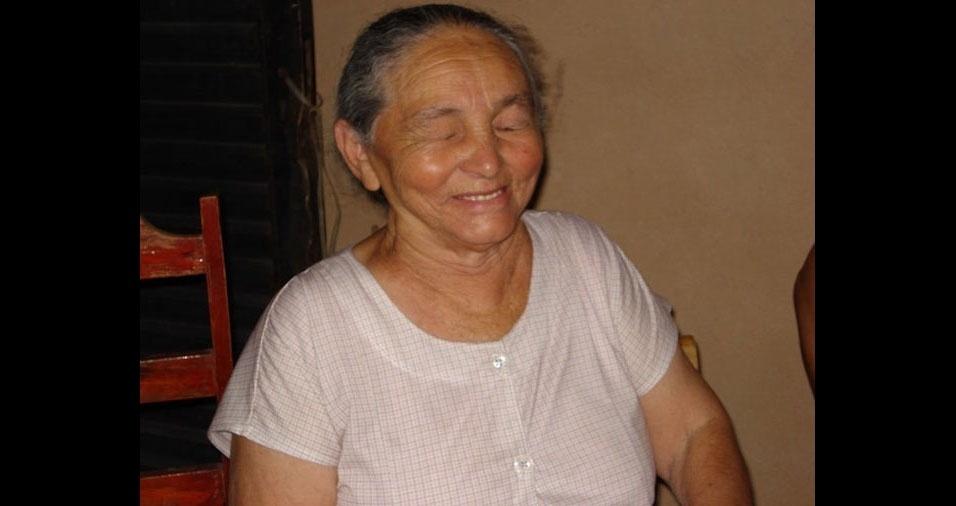 Luiz Carlos enviou a foto da mamãe Elvira