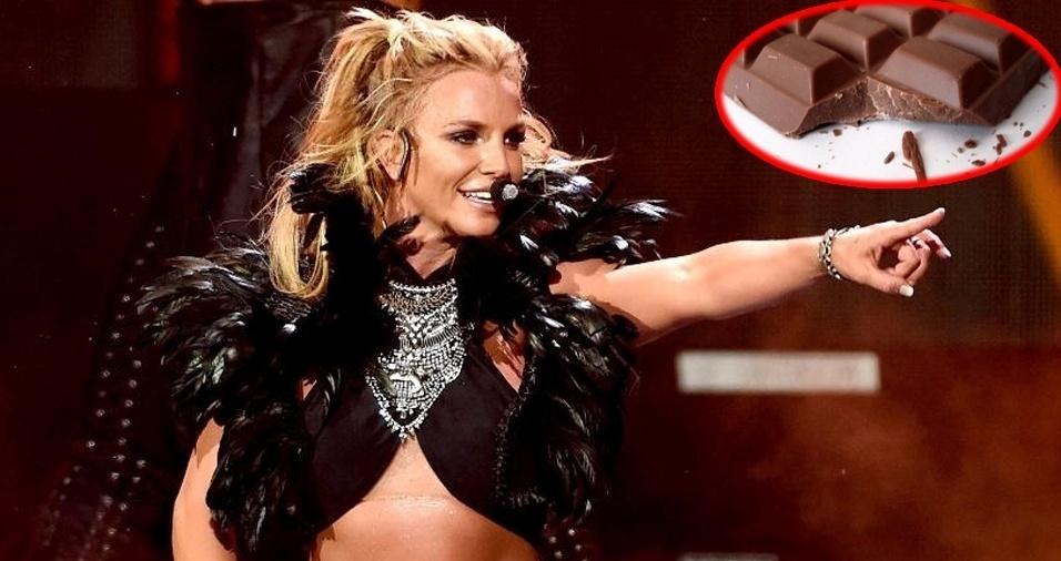 19. Britney Spears - Chocolate