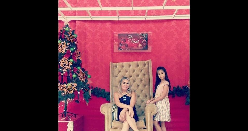 Socorro Nogueira, de Macapá (AP), com a filha Katriny