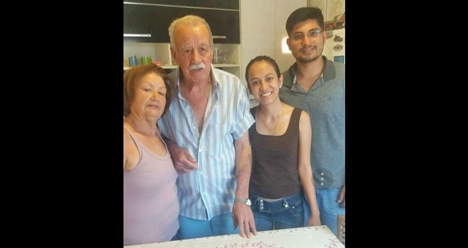 Caroline Marques e Edson Junior homenageiam os avós Jolice e Gilberto Marques, de Tatuí (SP)