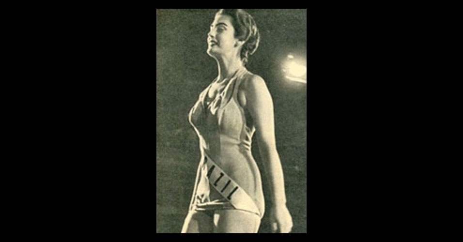 3. Adalgisa Colombo - a Miss Distrito Federal foi vice Miss Universo em 1958