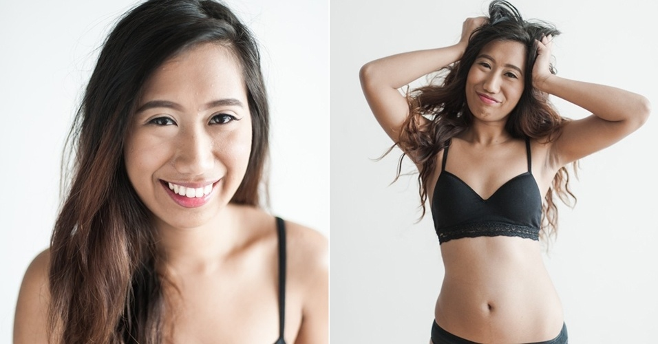 """Rika, de 25 anos, também posou para a campanha. """"Enquanto eu apprecio os elogios de amigos, familiares e até mesmo de estranhos, eu nunca me senti linda"""", revelou à revista Plump"""