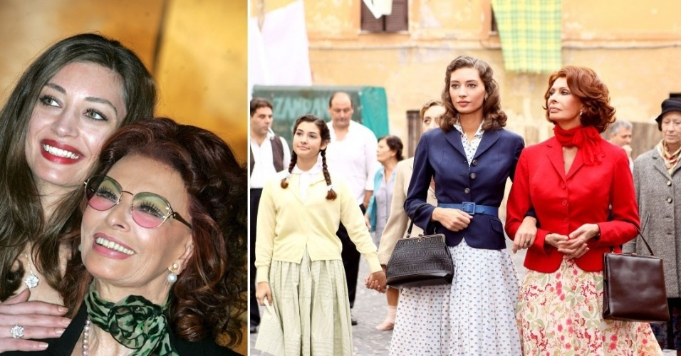 Confira a trajet ria da atriz sophia loren bol fotos bol fotos - La mia casa e piena di specchi ...