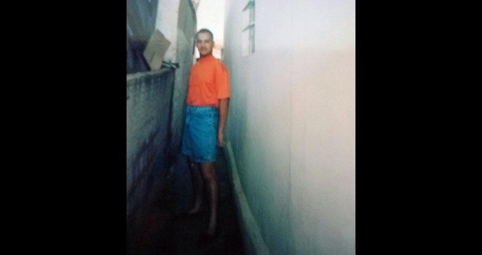 Valcir Firmino da Silva, de Americana (SP), enviou sua foto de 1996, quando tinha 21 anos