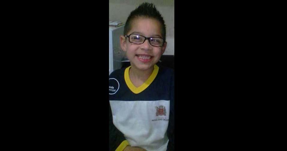Luciano enviou foto do Pietro, de seis anos, de Mogi das Cruzes (SP)