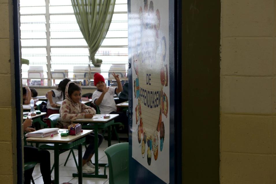 Imagem mostra outros projetos e aulas da EMEF Marili Dias