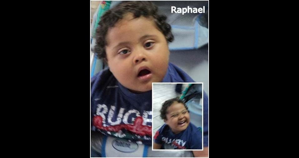 Marcelo da Rocha, de Peruibe (SP), enviou a foto do Raphael Lucio