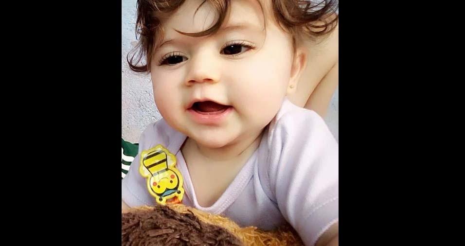 Michelle enviou foto da princesa Isabelly, de São Paulo (SP)