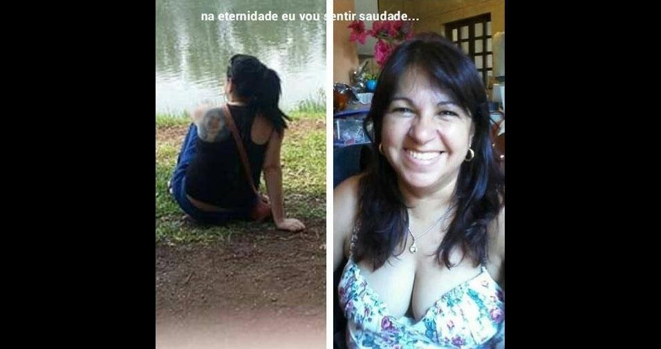 """Mayara Teixeira dos Santos homenageou a mamãe Valdineide Teixeira dos Santos: """"Minha guerreira que não está mais presente na minha vida, mas sempre em meu coração!"""""""