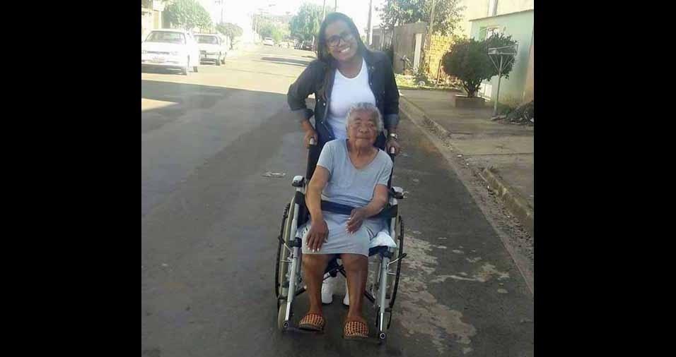 """Ely, de São Paulo (SP), faz uma homenagem à avó Benicia, que faleceu em 2016: """"Ela foi uma mãe pra mim e meus irmãos. Gostaria de homenagear essa mulher que foi tão especial pra mim."""""""