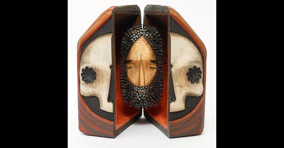 17. Trabalho de Jaime Molina com madeira e pregos