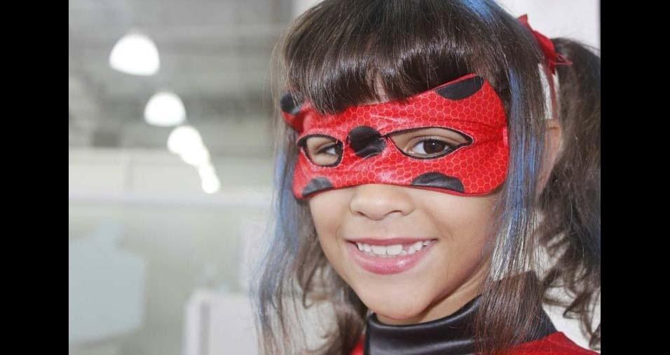 Roberta, de Santos (SP), enviou foto da filha Manuela