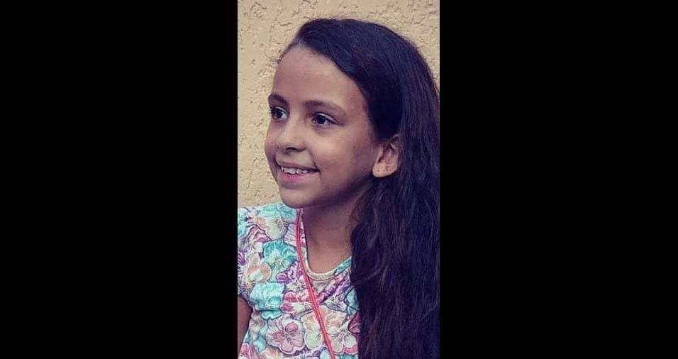Rosemeire e Fabio Luiz enviaram foto da Nathália, de nove anos, de Tatuí (SP)