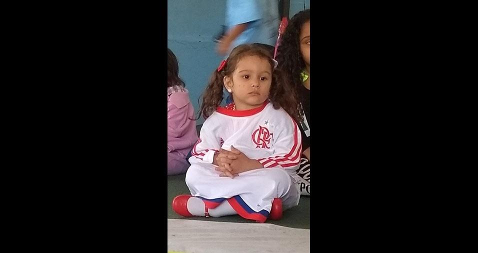 Maria Eduarda é filha do Álvaro Lopes Cardoso, do Rio de Janeiro (RJ)
