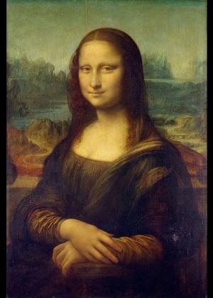 """""""Mona Lisa"""", de Leonardo Da Vinci - Reprodução"""