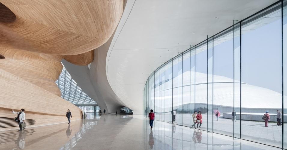 19.fev.2016 - A Casa de Ópera de Harbin, na China, foi escolhida para o prêmio na categoria