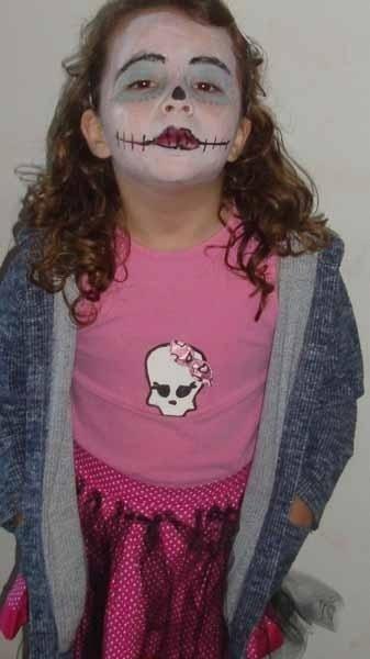 A mamãe Alessandra Ferreira, enviou a foto da filha Isabeli, de Indiaporã (SP)