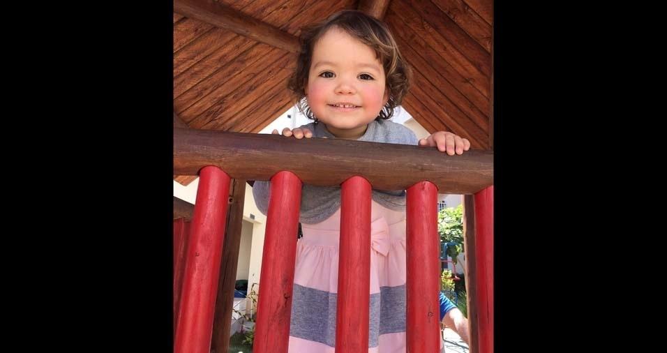 Paola Santana Delanegri, dois anos, é a filha da Gisele e do Cassiano, de Valinhos (SP)