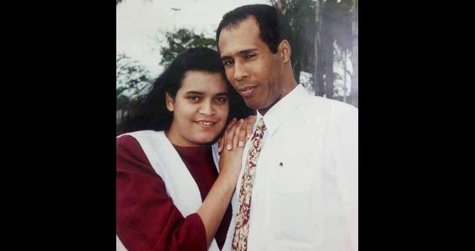 Luceli, então com 18 anos, e Jeová, de Louveira (SP), se casaram em 29 de junho de 1996