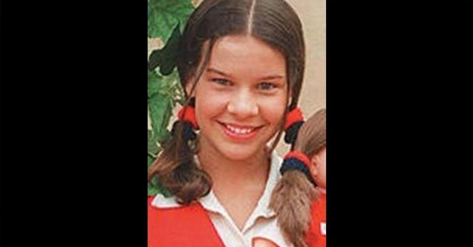 A atriz Fernanda Souza vivia a pequena Mili, principal heroína da primeira temporada da novela