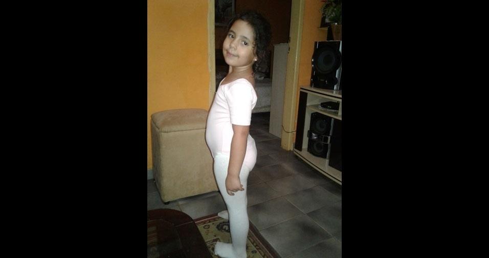 Laura Moreira Gomes, de Francisco Morato (SP), em foto enviada pela mamãe Beatriz Moreira Madureira