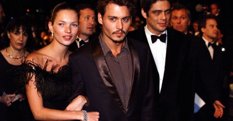 Johnny Depp e Kate Moss