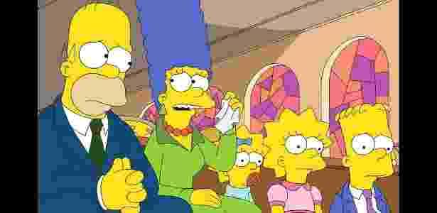 Simpson não tiveram força para segurar o domingo da Band - Reprodução/People