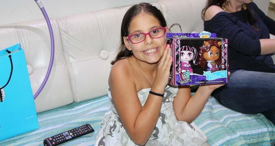 Gustavo, de Araraquara (SP), enviou foto da filha Nicole