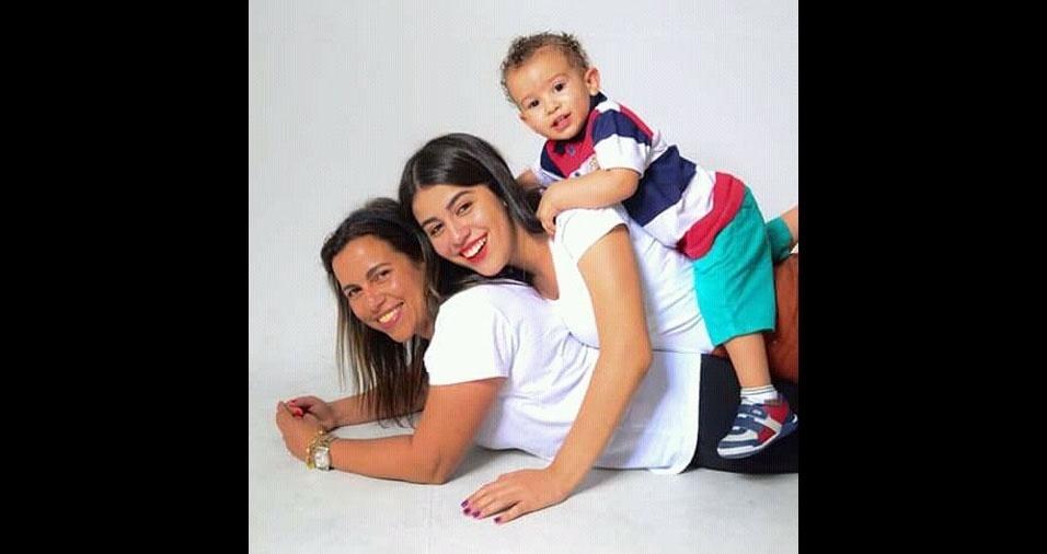 Kalyne e Murilo são os filhos da Rosangela Babosa da Silva, de São Paulo (SP)