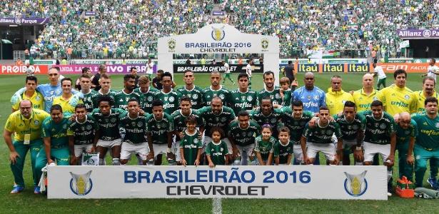 Palmeiras sonha em posar para a foto do título mais uma vez em 2017