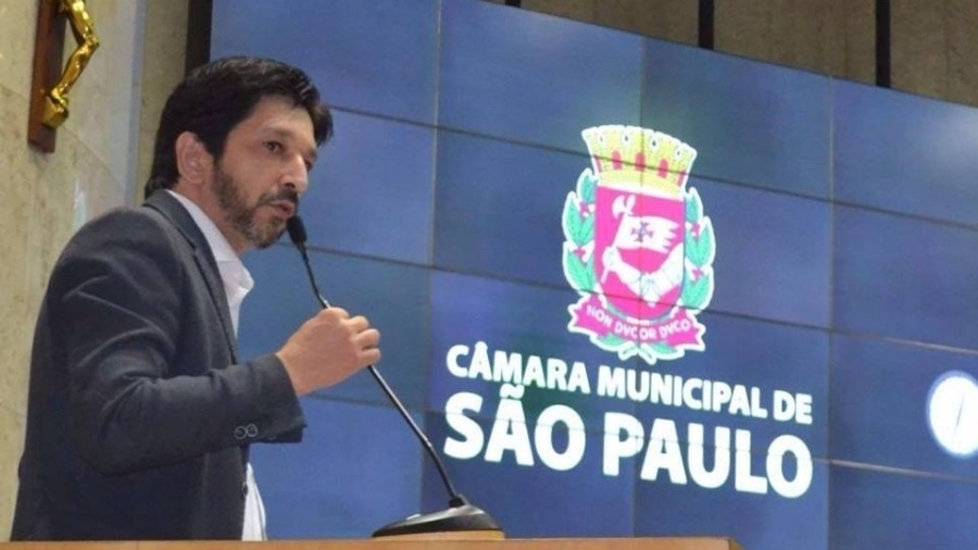 O vereador Ricardo Nunes será o vice na chapa de Bruno Covas - Reprodução/Facebook