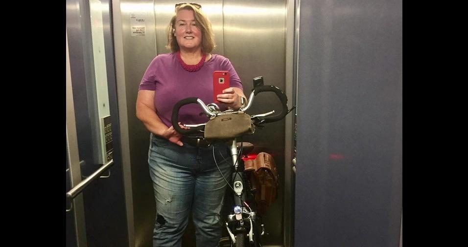 12. Utilizar bolsas, pochetes e pastas anexadas à estrutura da bike facilitam a vida, além de dar seu toque personalizado