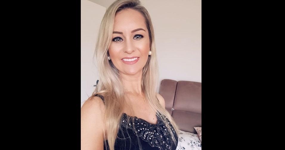Elisângela de Oliveira, 32 anos, de Ibirama (SC)