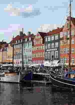 Canal de Copenhague, capital da Dinamarca - Reprodução/epicadventurer/Wikipedia/Montagem BOL
