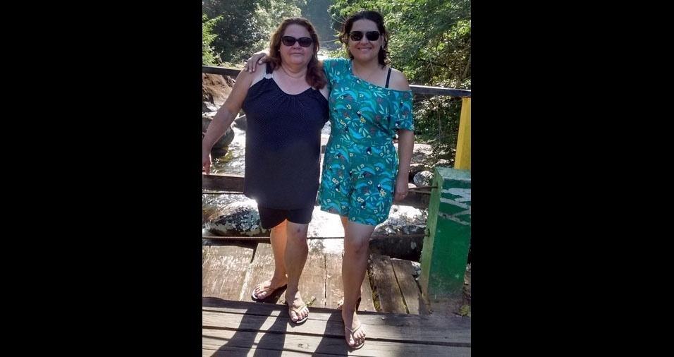 Gisele e filha da Teresinha