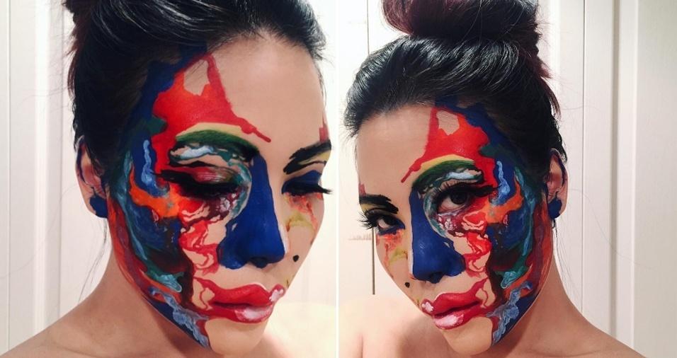 32. Para que uma tela, se você pode pode trabalhar em seu próprio rosto?