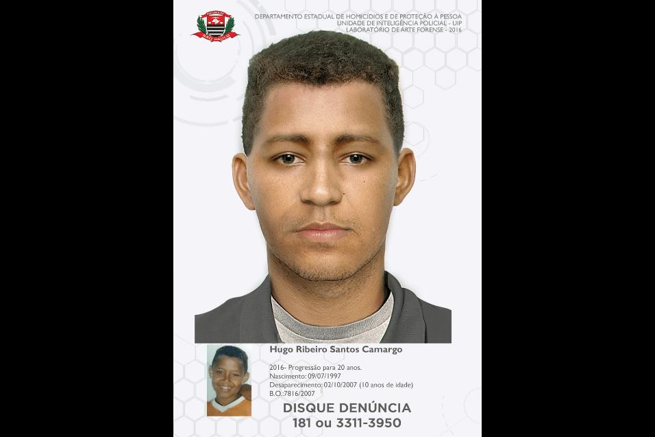 14.mai.2017 - Dicas que possam ajudar a polícia a localizar os desaparecidos podem ser enviados ao Disque Denúncia: 181 ou no (11) 3311-3950