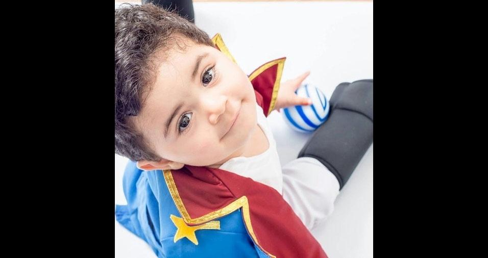 Felipe é o filho do Elizeu Carlos e da Vanderléia Minoni