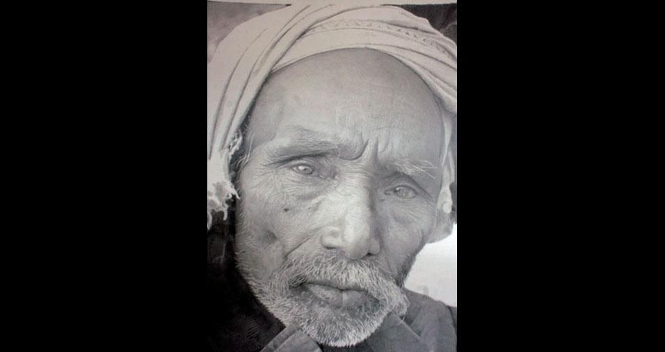 16. O homem de turbante