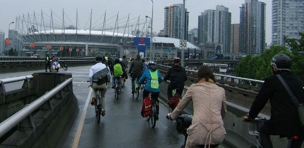 Cidade de Vancouver, no Canadá; país flexibiliza exigência de visto para brasileiros