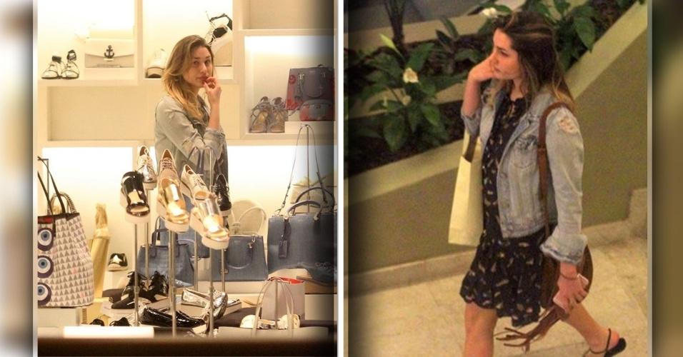 23.dez.2016 - A filha da apresentadora Xuxa, Sasha, foi fotografada, fazendo compras em um shopping de luxo do Rio de Janeiro. A agora estudante de Moda está passando férias de fim de ano no Brasil, mas vive nos Estados Unidos para cursar a faculdade