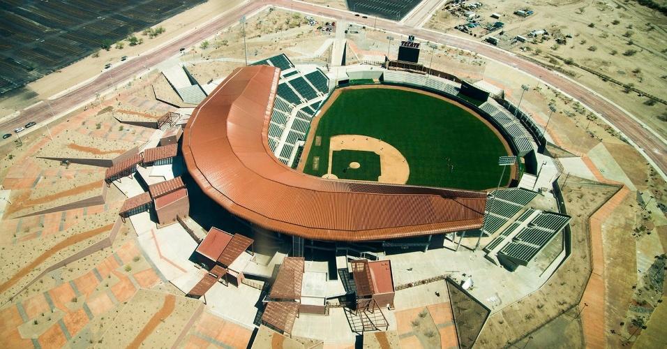 6.mar.2017 - Na categoria Esporte, o vencedor foi o projeto do Estádio de Sonora, no México, projeto da 3Arquitectura