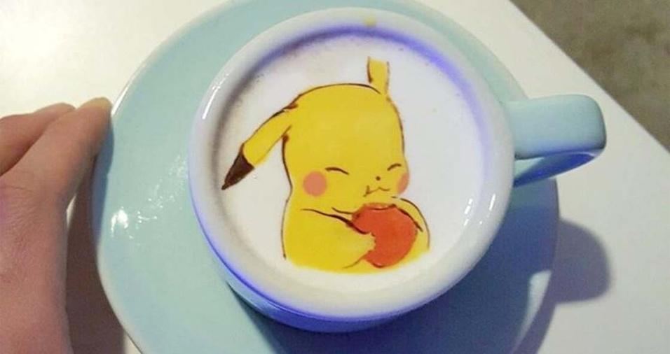 10. Dá até dó de beber esse Pikachu