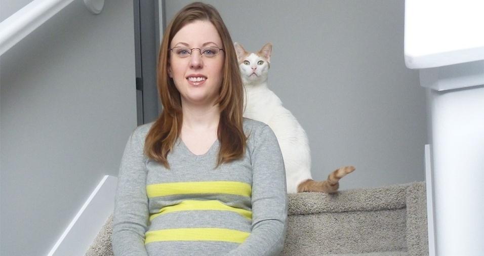 2. Os gatos parecem ter um dom especial para aparecer em fotos sem convite prévio